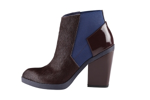 aldo two tone ankle boot