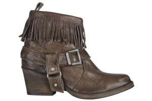 all saints revamped western ankle boot
