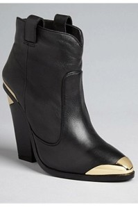 dolce vita revamped western ankle boot