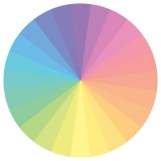 pastel color colors wheel art complementary family families girly soft